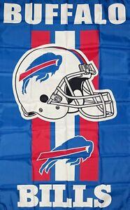 Buffalo Bills NFL Flag 3x5 ft Sports Blue Vertical Banner Man-Cave Garage