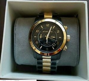 Sale! Michael Kors Men's Runway Gunmetal Chronograph Watch