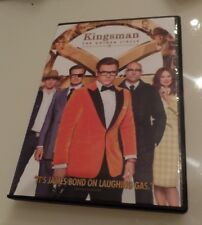 KINGSMAN THE GOLDEN CIRCLE, DVD, SINGLE DISC WITH CASE & COVER ARTWORK