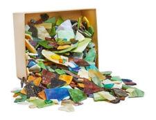 2 kg Bruchmosaik-glas "Farbenmix" VBS Großhandelspackung Basteln bunt Tiffanyglas