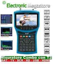 MISURATORE DI CAMPO CON SPETTRO SCR DVB-S/S2 DVB-T/T2 D2 DUO2 33100340