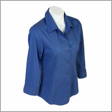 Nylon Long Sleeve Button Down Shirts for Women