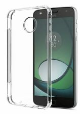 Soft Gel Clear Transparent Case Cover For Motorola Moto Z | Z Play | Z2 Play