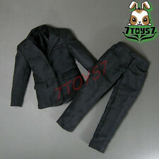 Wild Toys 1/6 WT024 Agent James Black Set_ Blazer + Pants_007 UK MI6 ACI  WT029B