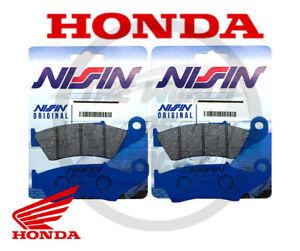 PASTIGLIE HONDA XLV/Transalp 650 2000-2007 ORIGINALI NISSIN PER MOTO HONDA 650