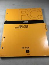John Deere JD480-A, JD480-B Forklift Parts Catalog Manual