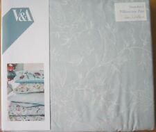 V&A Standard Pillowcase PAIR New BOTANICA AQUA