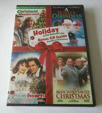 "Holiday 4 Film Collector's Set + Bonus CD Inside PATRICK SWAYZE **RARE**  ""NEW"""