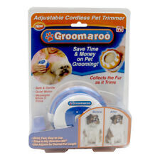 Groomaroo Adjustable Cordless Pet Trimmer AS SEEN ON TV