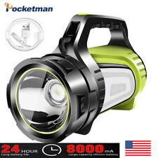 Powerful LED Searchlight Rechargeable Flashlight Spotlight Torch Camping Lantern