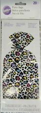 Leopard Bright Party Treat Bags 20 ct from Wilton 9924 NEW