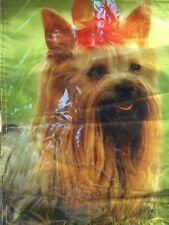 Yorkie Dog Garden Mini Flag 12 x 18 Top Paw Nylon New Free Shipping