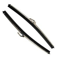 2 x  Stainless Steel Wiper Blade For Triumph TR6 69 - 73 7.2mm GWB118