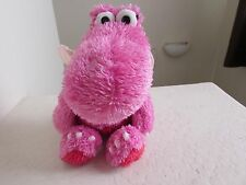 "Hallmark SWEET SINGING DRAGON 13"" Red Pink Plush Stuffed Animal Toy"