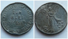 Germany:Very old looking coin or token. Unidentified & in poor condition  (563)