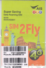 AIS SIM2Fly World Roaming Prepaid SIM with 4GB/15 Days - WORKS IN RUSSIA