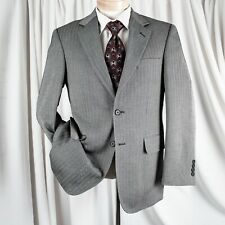 ARROW [NEW] Gray with Herringbone Man Blazer Coat Jacket
