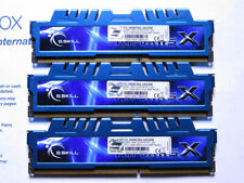 Lot of 3 x 8GB G.SKILL RipJawsX F3-1600C9Q-32GXM  PC3-12800 CL9-9-9 1.5v
