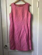 Talbots Pink Silk Dress Size 12