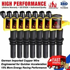 8 Ignition Coils Pack Plug For Ford F150 Expedition 4.6/5.4L V8 DG511 2001-2008