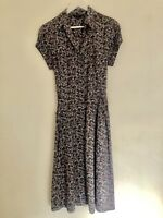 Laura Ashley Floral Dress Size 14
