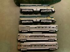 American Flyer - 474, 475 Rocket Diesel and 960, 962 and 963 Passenger Cars