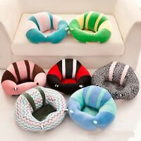 Cute Baby Support Seat Soft Car Pillow Cushion Children Sofa Plush Comfort Toy @