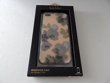 Nicole Miller Flex-It Case For iPhone 7 Plus Flowers/Clear/Multi