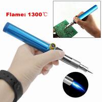 Gas Blow Torch Soldering Solder Iron Gun Butane Cordless Woolelding Pen Tools