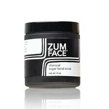 Zum Face Charcoal Sugar Facial Scrub New 4 oz. Indigo Wild Exfoliant Organic