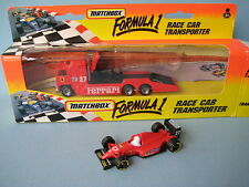 Matchbox Convoy Formula 1 Ferrari 27 Toy Model Racing Car Red Boxed