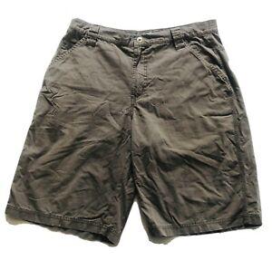 Columbia Sportswear Company Mens Outdoor Hiking Shorts Size 34 Grey