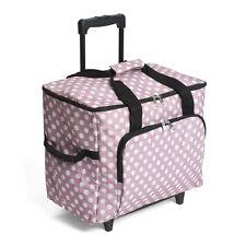 aa1c2debfa Sewing Machine Trolley Bag - Mauve Spot - HobbyGift - MRTB.006
