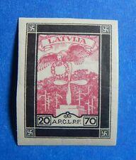 1933 LATVIA 20S/70S SCOTT# CB17a MICHEL # 218B UNUSED                    CS40112