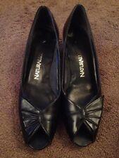 Naturalizer Black Slip On Shoes 9 1/2 AA/AAAA