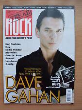 TERAZ ROCK 10/2007 DAVE GAHAN/Depeche Mode,Kraftwerk,Gossip,Samael,Eddie Vedder