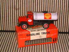BANDAI NOS FRICTION DRIVE, TIN & PLASTIC GASOLINE TRUCK W/ORIGINAL BOX. SWEET!