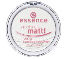ESSENCE POUDRE COMPACTE  FIXATRICE MAQUILLAGE-   ALL ABOUT MATT - NOUVEAUTE 2013