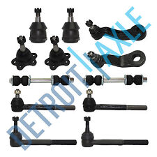 12pc Front Suspension Kit for Chevrolet and GMC Trucks - 4x4 / 4WD