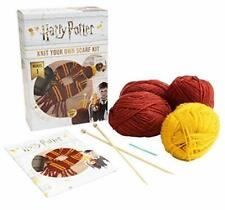 Harry Potter Knit Your Own Gryffindor Scarf Kit