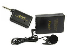 Pyle PDWM96 Belt Body Pack Wireless Lavalier Lightweight Microphone Mic Set