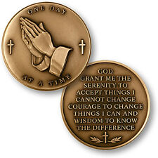 Serenity Prayer / One Day At A Time - Challenge Coin