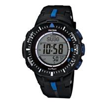 Casio Men's PRG-300-1A2 Pro Trek Triple Sensor Solar Resin Band Watch