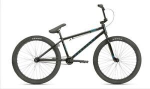HARO BMX  DOWNTOWN 24 BLACK BICYCLE