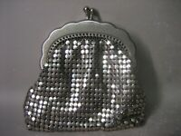 Vintage Hand Made Small Sequin Miniature Wallet - Coin Purse