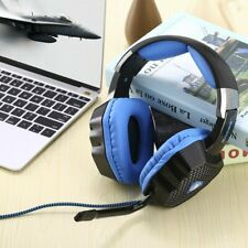 Black USB PC Gaming Headsets Breathing LED 7.1 Sound Stereo for SADES A70 US