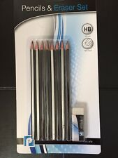 Pencil And Eraser 8 Pack