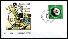 Fußball. 100 Jahre Deutscher Fußball-Bund(DFB).FDC(2). BRD 2000