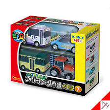Tayo Little Bus Friends Special Set Vol.7 Mini Car Toy / Nana,Leo,Rolly,Ractor