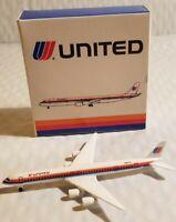 SCHABAK 1:600 United AIRLINES DOUGLAS DC-8-71 922/23  Germany
